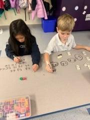 TFS Kindergartens making friends