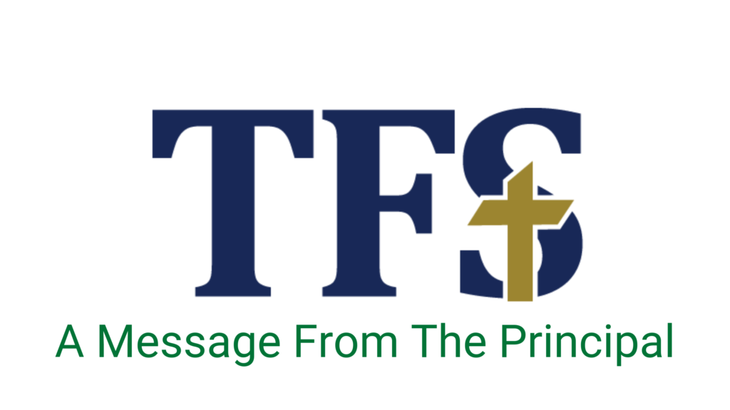 TFS Message From The Principal