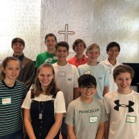 Franciscan New Student Orientation 2019